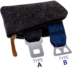 Airplane Seatbelt Extenders Premium 2 Pack For All Airlines Type A Universal