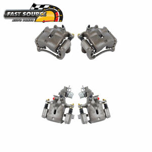 Front And Rear Oe Brake Calipers Set For Infiniti I30 Nissan Maxima Gle Se Gxe