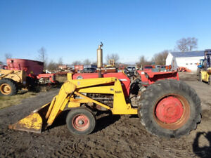 1972 Massey Ferguson 165 Tractor Mf Front Loader 8 Speed Diesel 1 620 Hrs