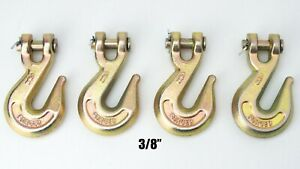 Replacement Chain Ends Clevis Grab Hook Logging Towing Equipment G30 3 8 Set