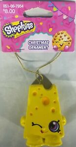 Kurt S. Adler  Shopkins Chee Zee Yellow  Childrens Christmas Tree Ornament 2013 $9.95