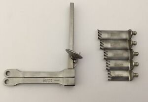 Aesculap Bv431 Orthopedic Self retaining Retractor With Set Of 5 Blades
