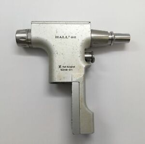 Zimmer Hall 5048 01 Surgical Orthopedic Drill