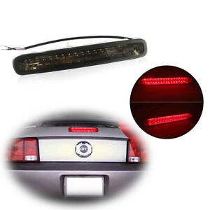 Led 3rd Third Brake Stop Tail Light Lamps Black Lens For Ford Mustang 2005 2009