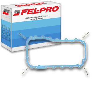 Fel Pro Oil Pan Gasket Set For 1990 2010 Dodge Grand Caravan Felpro Engine Ez