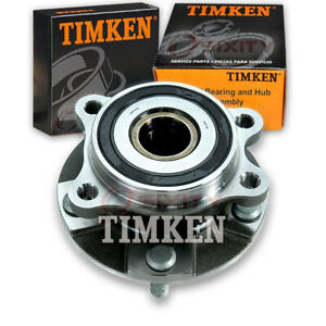 Timken Front Wheel Bearing Hub Assembly For 2011 2016 Scion Tc Left Right Fn