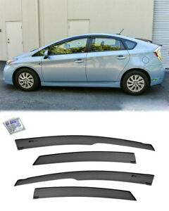 Tape On Visors For 10 15 Toyota Prius Jdm Mugen Style Vents Window Rain Guards
