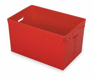 Diversi plast Nesting Container Red 16 h X 23 l X 15 5 8 w 3pk 39822 39822