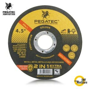 50 Pack 4 5 x 045 x7 8 Cut off Wheel Metal Stainless Steel Cutting Discs