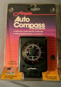 Vintage Airguide Model 1665 Auto Compass New Sealed