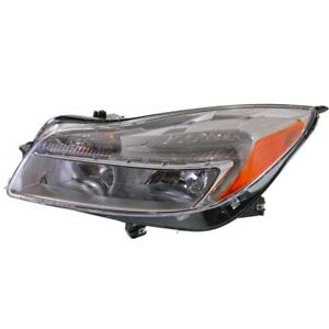 Headlight For 2011 2013 Buick Regal Driver Side