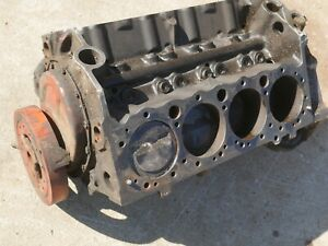 327 Chevy 3782870 Shortblock F0i07hd Suffix Factory Forged Popups Legit Used