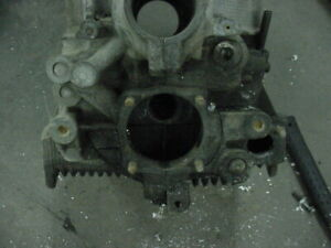 Type 1 Dual Oil Relief Engine Block Case Volkswagen Vw Air Cooled 1600cc 71 72