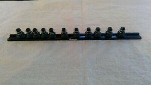 New Snap On 1 4 Drive Speed Rails Lsr3812a