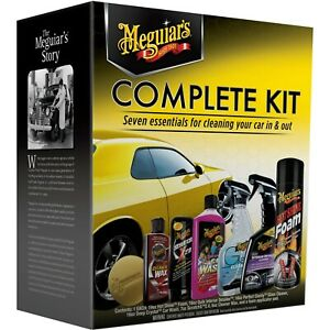 Meguiar s 7 piece Complete Car Care Kit Cleaning And Detailing G19900