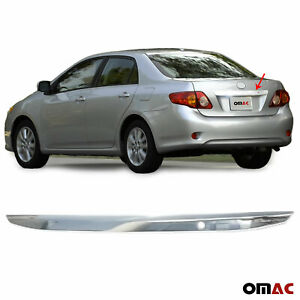 Fits Toyota Corolla 2009 2010 Chrome Trunk Door Grab Handle Trim Cover S steel