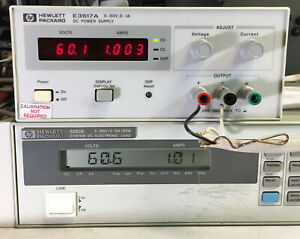 Hp Agilent E3617a Variable Dc Power Supply 0 60v 1a Load Tested