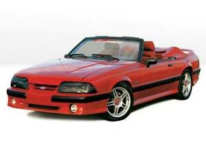 Cobra Style Complete Kit For 1987 1993 Ford Mustang Lx 2dr 890105