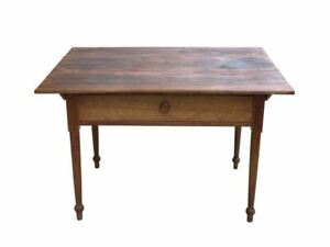 American Walnut Tavern Table Circa 1825