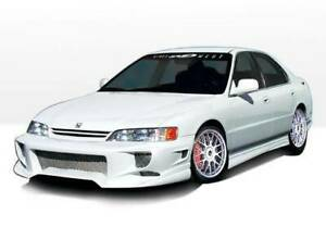 W Type Side Skirts For 1994 1997 Honda Accord 2dr 890187l 890187r Pair