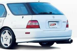 W Type Rear Lip For 1994 1995 Honda Accord Wagon 890320