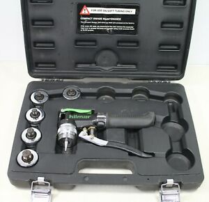 Hilmor Compact Swage Tool Kit With Case And 5 Heads Cs 1839015
