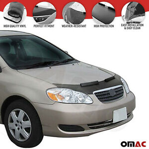 Front Hood Cover Mask Bonnet Bra Protector Fits Toyota Corolla 2002 2006