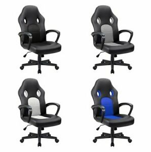 High Back Ergonomic Adjustable Racing Chair task Swivel Executive Computer Chair
