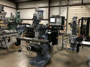 Cnc Bridgeport Vertical Milling Machine