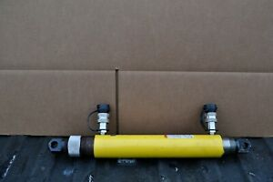 Enerpac Rd 910 Hydraulic Cylinder Double Acting 10 5 Stroke 9 Ton W rod Ends