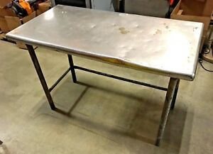 Stainless Steel Prep Table Commercial Kitchen Table Heavy Duty 48 W