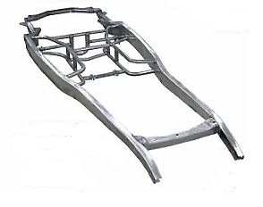 Ford Car Steel Perimeter Frame 1932 Style Pinched For 1930 1931 Model A