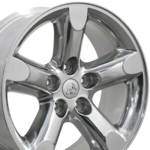 20x9 Wheels Fit Dodge Ram Trucks Ram 1500 Style Polished Rims 2267 Set oew