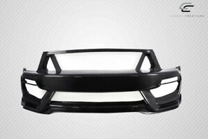 Carbon Creations Gt350 Look Front Bumper 1 Piece For Mustang Ford 05 09 Ed