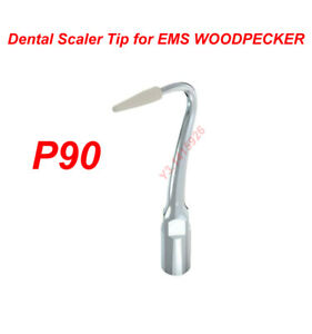 Dental Ultrasonic Scaler P90 Tip Implant Cleaning Periodontal For Ems Woodpecker