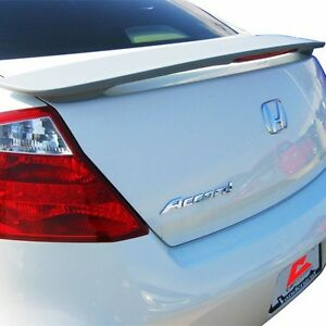 Painted 2008 2009 2010 2011 2012 Honda Accord Coupe Spoiler Factory Style