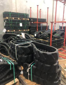 New Pair Rubber Tracks 300x52 5wx78 For Cat 302 5c Ready To Ship
