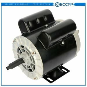 2 Hp Spl Air Compressor Duty Electric Motor 56 Frame 3450 Rpm Single Phase 60 Hz