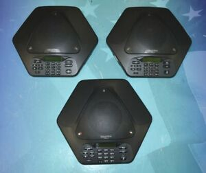Lot Of 3 Clearone 860 158 400 Max Wireless Conference Phone W speaker