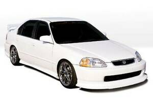 Racing Series 4pc Kit W touring Style Lip For 1996 1998 Honda Civic 4dr 890182