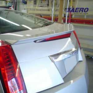 Gm Style Carbon Fiber Trunk Spoiler Wing For 11 14 Cadillac Cts v Coupe Aero