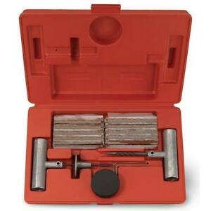 35pc Professional Tire Repair Kit Set Car Bicycle Motorcycle Atv Tractor Vct