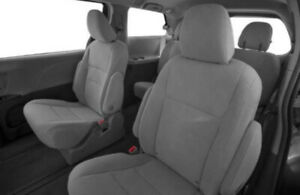Toyota Sienna Le 2019 Gray Cloth Car Seats Brand New 2nd And 3rd Row Seats
