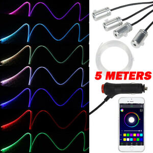 5 Meters New Interior Ambient Atmosphere Lights 4 Led Bluetooth Control