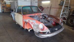 1978 Porsche 911 Targa Cotitle Rust Free Body Shell Back Date Started Project