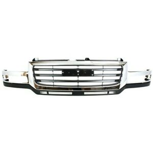 19130795 Gm1200568 Grille For Gmc Sierra 2500 Hd Heavy Duty 3500 Truck Classic