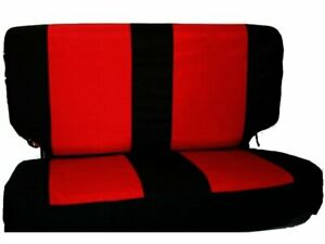 For 1997 2002 Jeep Wrangler Seat Cover Rear Rampage 46238sd 1998 1999 2000 2001