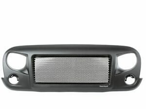 For 2007 2017 Jeep Wrangler Grille Front Rugged Ridge 67115bv 2008 2009 2010