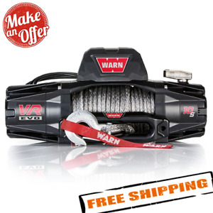 Warn 103253 Vr Evo 10 s 10 000 Lbs Winch With Synthetic Rope