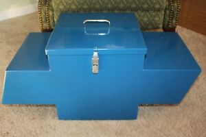 Rare Chevy Gm Portable Tool Storage Box Prototype Model One Of A Kind